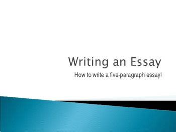 The Steps of Writing an A College Essay